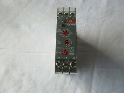 ABB CT-MFE  Time Relay, Multifunction 1c/o, 0.05s-100h, 24-240VAC/DC
