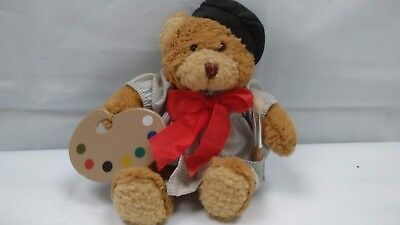 The Teddy Bear Collection Gaston the Little Painter Soft Plush Cuddly Soft Toy