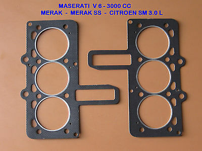 Maserati Merak  Am 122 , Joint De Culasse, Head Gaskets Set , Zyl-Kopf Dichtung