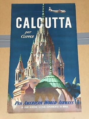 Collection Affiche  Poster Publicitaire Ancienne Usa 1950