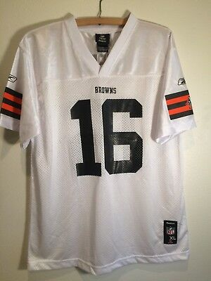 5648d0370 Youth XL (18-20) Reebok Cleveland Browns JOSH CRIBBS #16 NFL Football