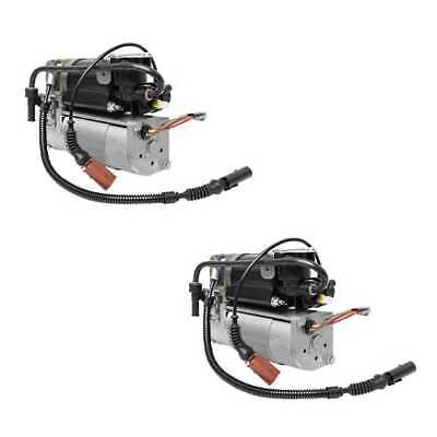 Pair (2) Air Spring Compressor Fits 2004-2005 2006 Volkswagen Phaeton D1 Chassis