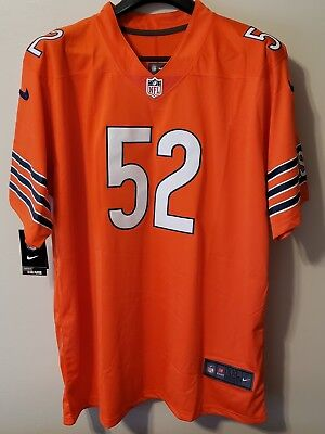 new style 393b2 f5625 NEW KHALIL MACK #52 Chicago Bears Nike Jersey Youth XL18 ...