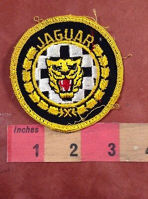 Vtg JAGUAR Car / Automobile Advertising Patch 89AC