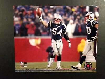 11cf5dbc2 TEDY BRUSCHI SNOW Game NEW ENGLAND PATRIOTS 8x10 PHOTO FRAMED With ...