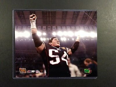 e3ea3a907 Tedy Bruschi SUPER BOWL XXXVIII Celebration 8x10 Photo NEW ENGLAND PATRIOTS