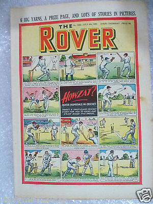 THE ROVER Comic, No.1462, 4th July 1953- Howzat ?