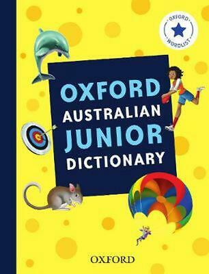 Oxford Australian Junior Dictionary by Oxford Dictionary Paperback Book Free Shi