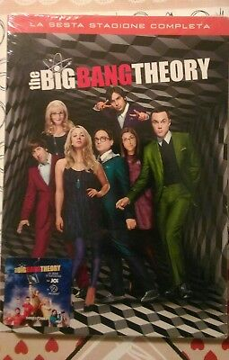 The Big Bang Theory - Stagione 6 (3 DVD) - ITALIANO ORIGINALE SIGILLATO -