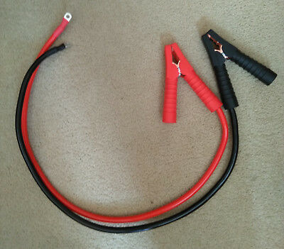 CABLE WIRE VEHICLE BATTERY HARNESS LOOM 8 x 50mm M8 HEAVY DUTY CRIMP TERMINALS