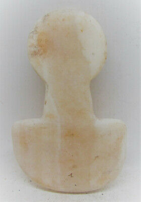 Very Rare Ancient Cycladic Stone Diety Pre Aegean