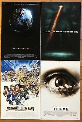 HORROR MOVIE POSTER LOT - 34 Studio Issued Promo Posters - Lot #2