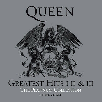 QUEEN **Greatest Hits: I II & III: The Platinum Collection **BRAND NEW 3 CD SET