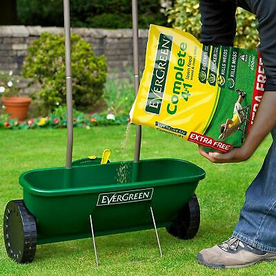 Evergreen Complete 4 In 1 Lawn Food, Weed & Moss Killer 360m + 10% Fertiliser