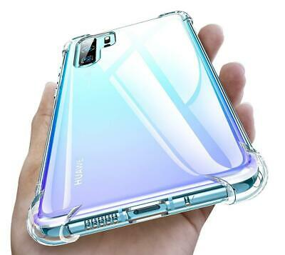 Clear Case for Huawei P30 P30 Pro Y6 Slim TPU Shockproof Transparent Tough Cover