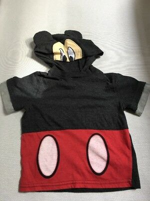 Disney Mickey Mouse Clubhouse Toddler Boys 18 month - Hooded T-shirt Costume