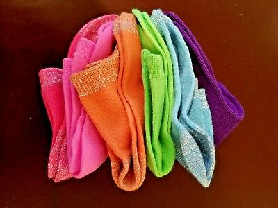 Girls ankle socks pack of 6 - New no tags still fastened.