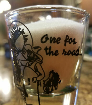 One For The Road Shot Glass
