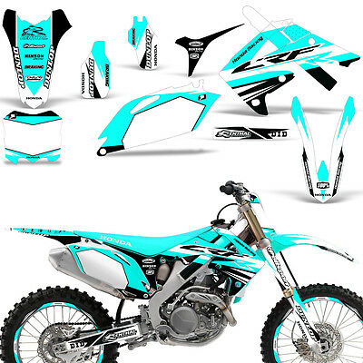 Honda CRF450R 2009 2010 2011 2012 2013 2014 2015 2016 Bling Kit Blue RHK