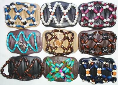 """Angel Wings Hair Clips 4x3.5"""", African Butterfly, Magic,Quality, US SELLER, S117"""