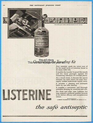 Advertising 1920 Klenzo Liquid Antiseptic Banishes Bad Tastes Instantly Mouthwash Teeth Ad Cheap Sales