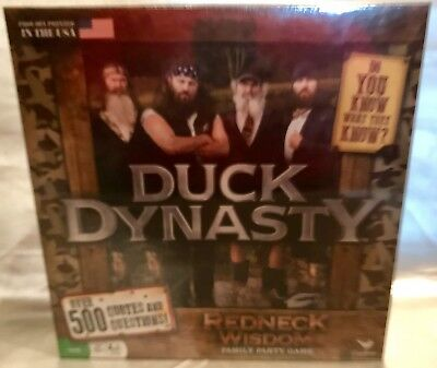 DUCK DYNASTY REDNECK Wisdom Family Party Game - $9 95 | PicClick