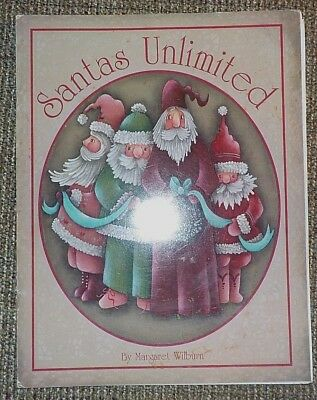 Santas Unlimited By Margaret Wilburn Christmas Holiday Tole Painting Book