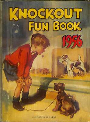 Knockout Fun Book Annual 1956, unknown, Good Condition Book, ISBN