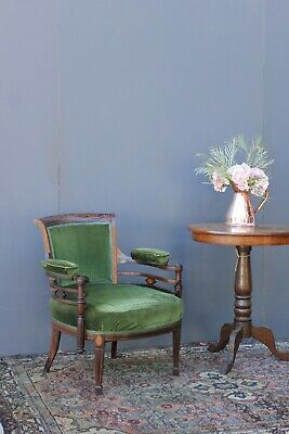 French Antique Walnut Settee.