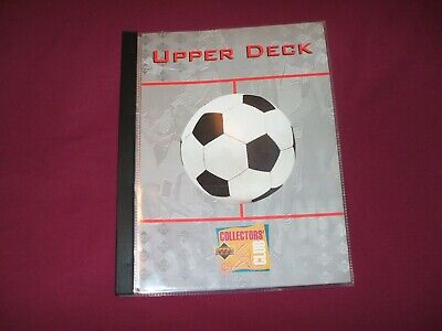 Upper Deck Collectors Club Card Album With 10 Empty Sleeves