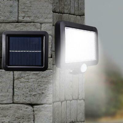 56LED Solar Powered Motion Sensor Light Security Flood Outdoor Garden Lamps H0K4