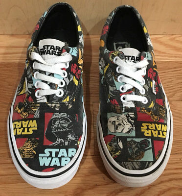 c045b09006 HTF VANS Star Wars Era Classic Repeat M 7.5 W 9 May the Force be With