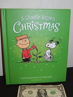 A CHARLIE BROWN CHRISTMAS Schulz Hallmark Recordable Storybook Hardcover 2011