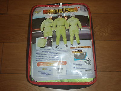 Motrax Visilite Hi-Vis Waterproof One Piece Oversuit