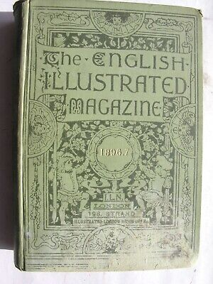 ENGLISH ILLUSTRATED MAGAZINE 1896-97 Bound Volume Horatio Nelson Newstead Abbey