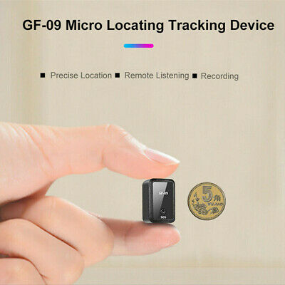 GF-09 Mini GPS Tracker Real Time Locator Tracking Device Security Anti-Lost Tool