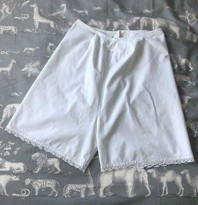 Vintage Old Antique French Knickers Bloomers Monogrammed