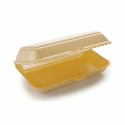 Days Polystyrene Hot Food Meal Box HP3 x 250 (2 Pack)