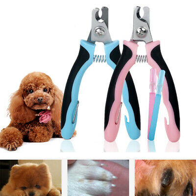 Pet Nail Clippers Claw Dog Cat Animal Trimmers Scissors Cutters Toe Small Large