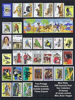 Australia Post Year Collection 1980 (39 stamps) MNH **SET B - BARGAIN!!**