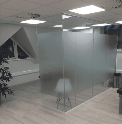 Glass Divider - Office Divider - Glass Partitions FREE DELIVERY
