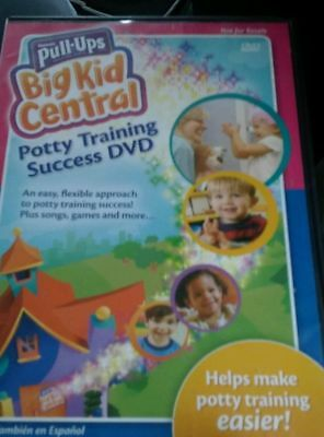 Huggies Pull-Ups Big Kid Central Potty Training Success Dvd