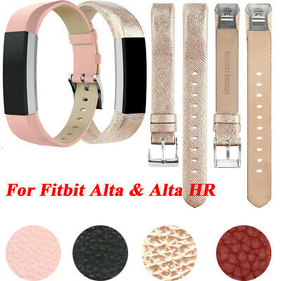 For Fitbit Alta & Alta HR Wrist Straps Wristbands Leather Wristband Replacement