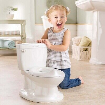 Summer Infant My Size Potty - Training Toilet for Toddler Boys & Girls - with Fl