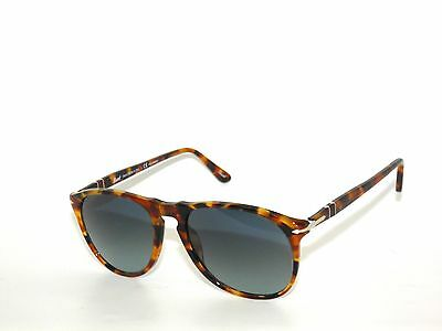 d4887d3b64f91 PERSOL 9649 S 1052 S3 Madreterra Blue Fade Polarized 52 New ...