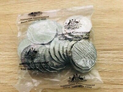 2019 International Year of Indigenous Languages 50 Cent Coin UNC from RAM bag