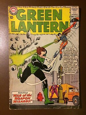 DC comics : GREEN LANTERN # 25 , 1963,  G+ / VG condition