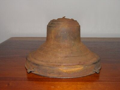 "Antique, vintage, steel, lamp/light shade holder w/porcelain socket 6-1/4"" D"