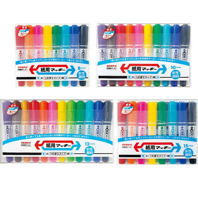 ZEBRA Mckee Double-Sided Bold /& Fine Marker Pen Choose from 15 Colors