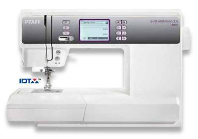 Pfaff Quilt Ambition 2.0 Computerised Sewing Machine Brand New Touch Screen